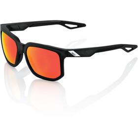 100% Centric Okulary rowerowe czerwony/czarny